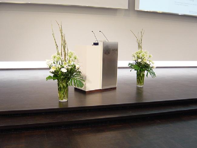 Raumdekoration, Raumschmuck, Firmenevent, Firmenpräsentation, Heidelberg