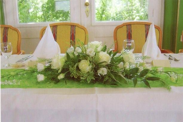 Tischdeko, Tischdekoration, Familienfest, Heidelberg